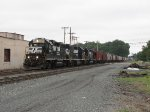 BO45 heads north up the Toledo Belt with a grain train