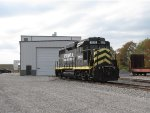 2230 sits outside of the INER's new engine shop