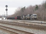 316 comes east into Berea led by 3 GE's