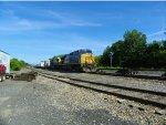 CSX 5348 Pulls A Train With Just Wind Turbine Parts