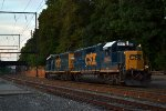 CSX GP38-2 2657 leads C764-10 towards Woodbourne Yard