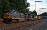 CSX 595, CSX 8548, and NYSW 3806 on Q410-08