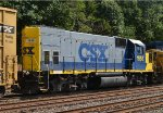 Rear shot of CSX GP15-1 1558 on Q439-03