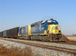 CSX 6452 Q634 at Eaast Fostoria 9:22 am