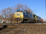 CSX 7659 Q231 a little closer C&O NS diamond