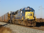 CSX 8555 Q216 9:07 am East Fostoria