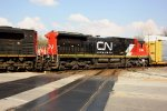 CN 2104 - Canadian National units