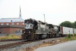 NS local P92 at Yadkin Junction