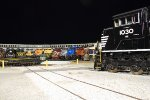 NS 1030 with the heritage units around the turntable