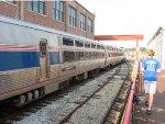 Amtrak Exhibit Train at the NCTM