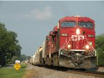 CP 8855 in the siding