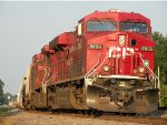 CP 8855 stopped in the siding