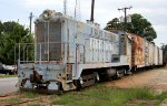 Light blue and rust on the Pickens Railroad