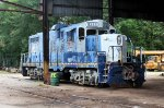 JRWX #8383 under the shed