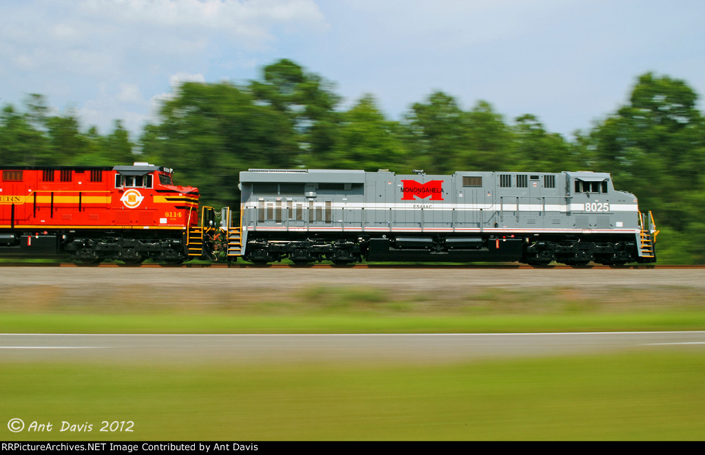 Pacing NS 8025 & NS 8114 at 1/25th!