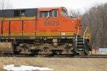 BNSF ES44C4 6625 near Rushville, Missouri on Christmas Day