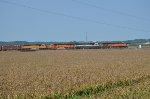 UP northbound crude oil train OSJEE-14