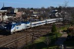 Amtrak train #311 westbound Missouri River Runner