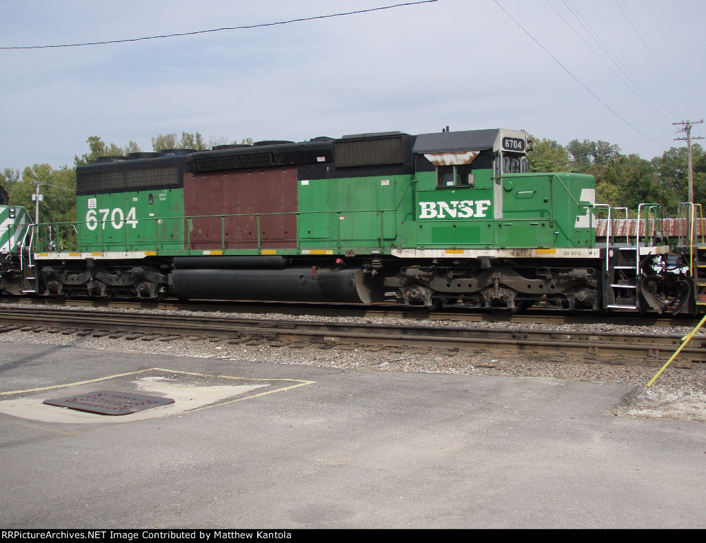 BNSF 6704