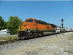 BNSF 6888 Passing The 68