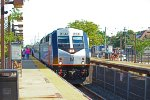NJCL#4372 stopped at Point Pleasant Beach With 4014 Leading