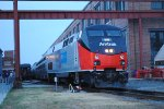 Amtrak display