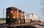 Eastbound BNSF Stack Train