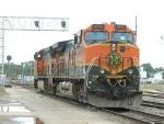 BNSF 4180(C40-9W) BNSF 1032(C44-9W)
