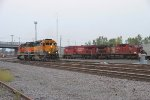 CP 483 and two SD40-2s