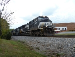 NS 9434 heading for Asheville,NC