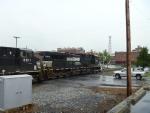 NS 9319 in heavy rain