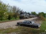 NS 8011 on coal train