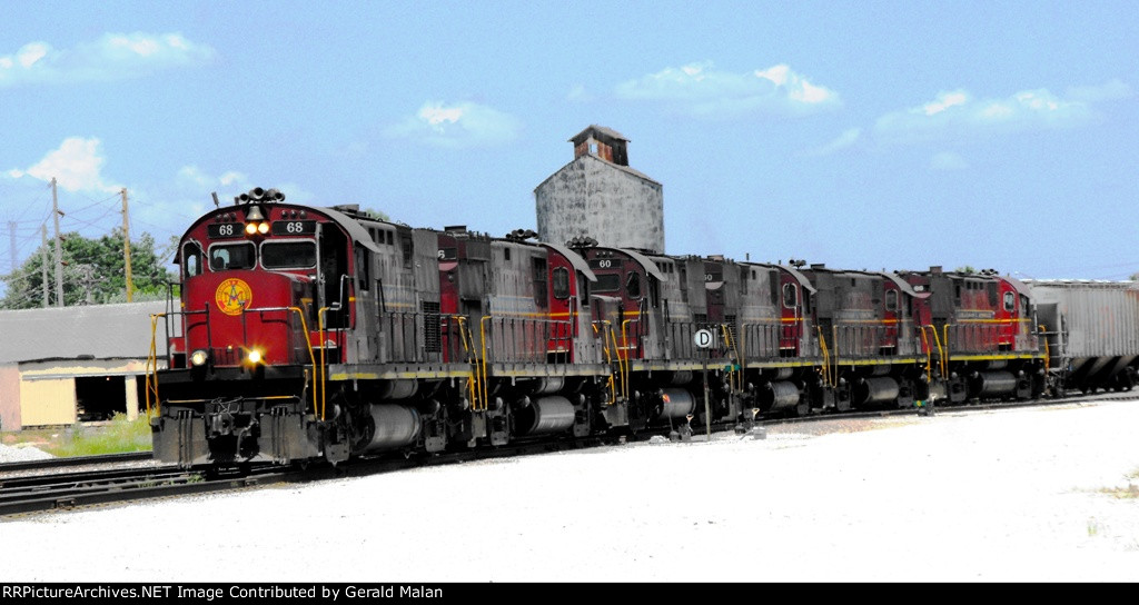 A and M RR in Monett MO