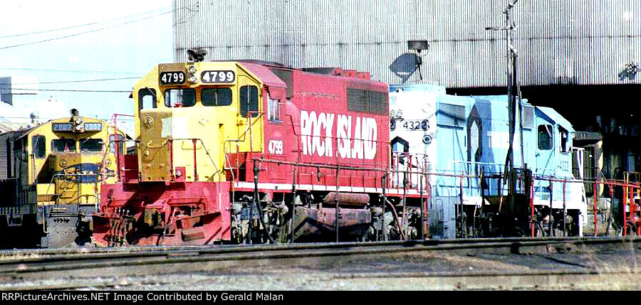 HBT Houston Belt and Terminal Milby Street Yard Shop in 1980