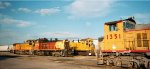 MoPac/UP Settegast Yard Switchers 1998