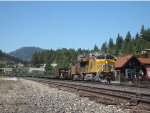 UP Rail Train in Truckee