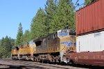 UP Stack Train at Gold Run