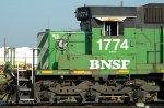 BNSF 1774 Cab details