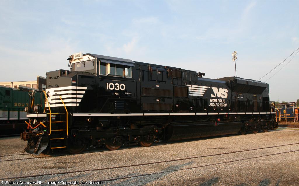 NS 1030 30th Anniversary engine
