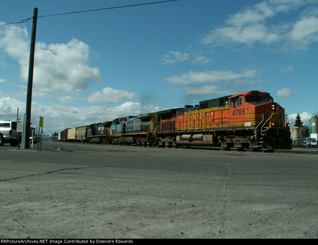 BNSF, CSX, and NS on lead