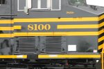 NS 8100 close up number shot.