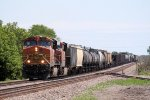 Yet Another Westbound BNSF Manifest with an H2 GEVO Leader