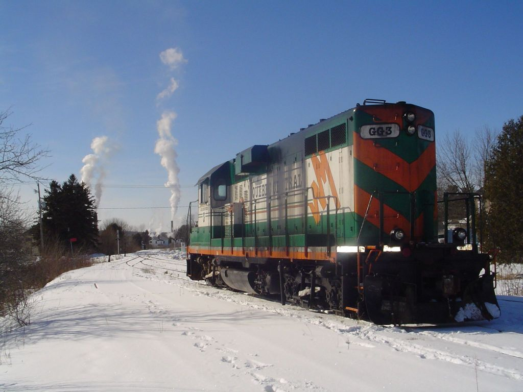Quebec Central locomotive