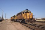 UP 3387 Cheyenne yard