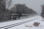 Amtrak 43 WB @ MP;PT 117