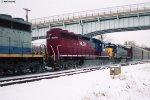 HLCX SD40M-3 6079