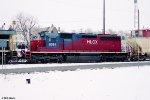 HLCX SD40M-3 6084