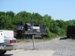 May 13, 2006 - NS 7091 in the yard