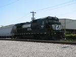 May 13, 2006 - NS 4812 rests in the yard