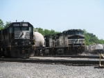 May 13, 2006 - NS 8889 and NS 6657 in the yard